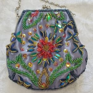 Beautiful Beaded VTG Mini Bag